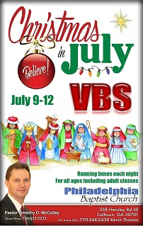 Vacation Bible School 2017